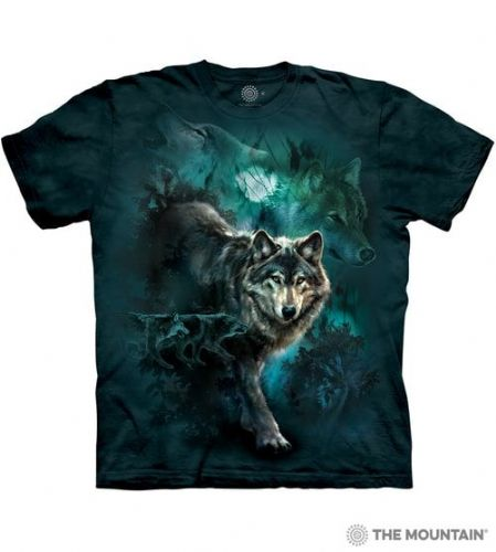 Night Wolves Collage T-shirt | The Mountain®